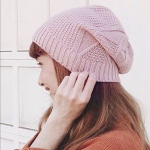 NWT! Jetset diaries cable knit beanie